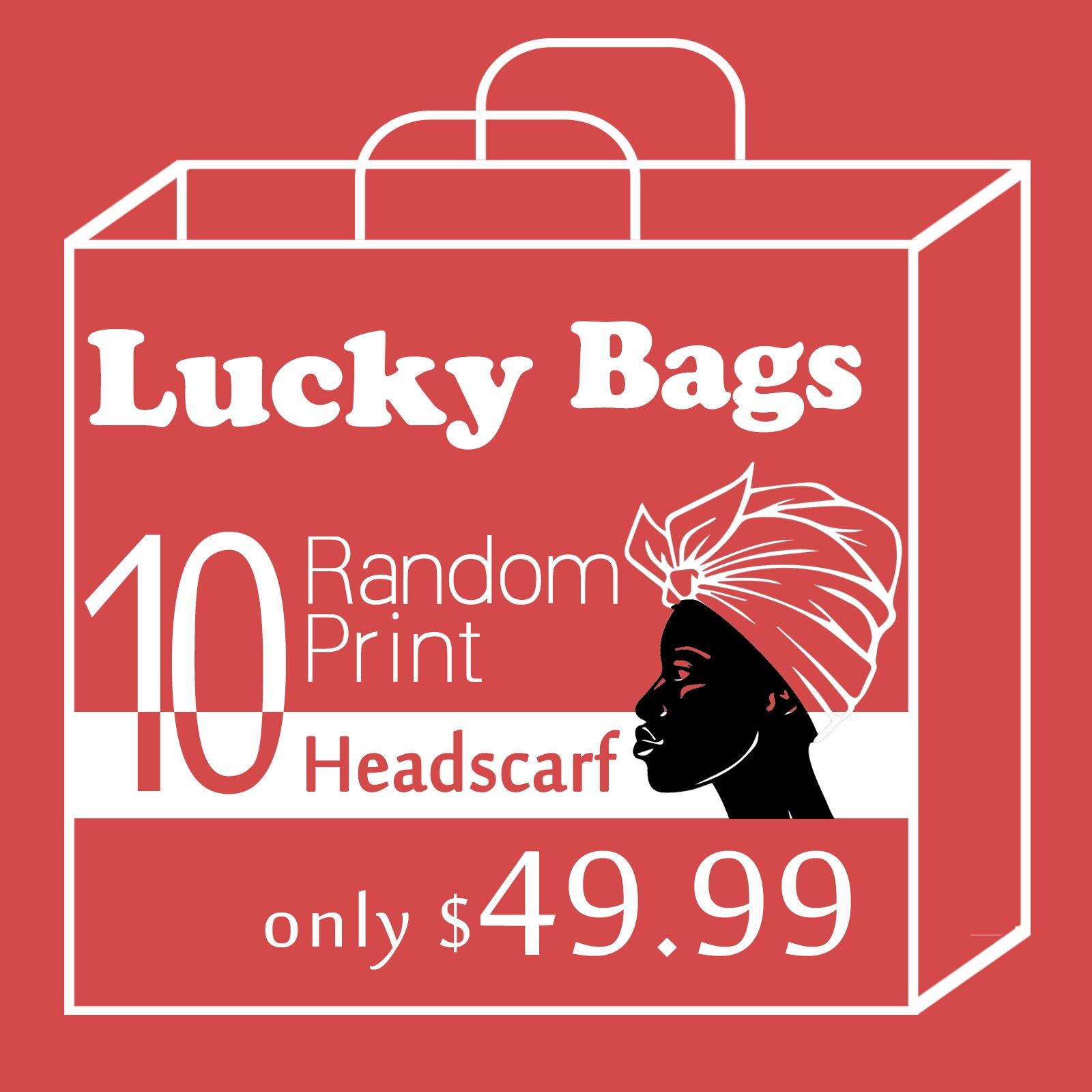 Африканские головные уборы для женщин, головные уборы с принтом Анкары, традиционный головной убор, тюрбан, большой подарок-сюрприз, пакеты ...