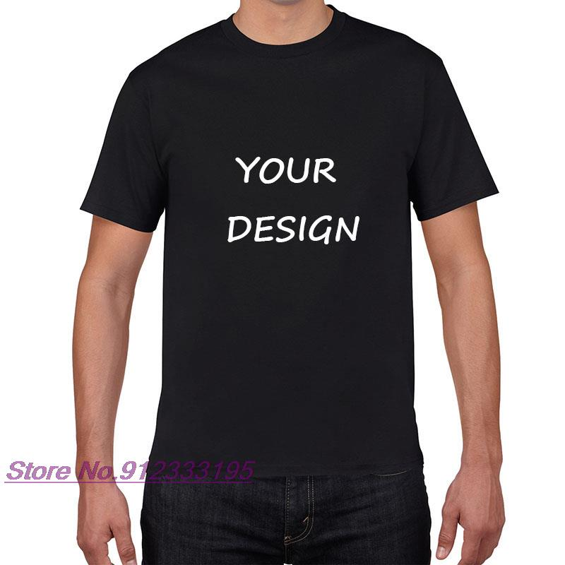 t shirt diy Customized Print T Shirt Women's   DIY Photo Logo Brand Top Tees T-shirt Men's  clothes Casual  6 colors Tshirt