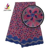 high quality dry lace swiss embroidery design cotton voile blue latest nigerian hot selling fabric quality voile in switzerland