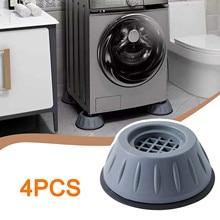 Anti-Slip Washing Machine Feet Pad Anti-vibration Mute Protection Mat Furniture Lifting Foot Base Ho