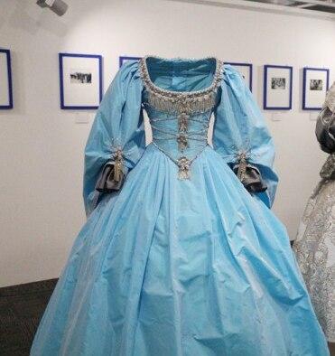 فساتين حفلات 2020 بلون أزرق بحمار الأميرة فستان كوينسيانيرا مطرز بالخرز من الساتان مقاس كبير حلو 16 فستان Vestido Debutante