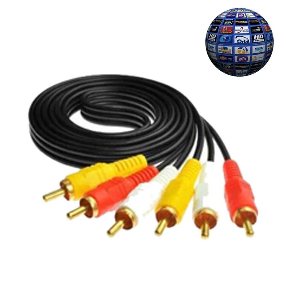 AV Cable support Digital Satellite TV DVB-T2 DVB-S FTA satellite receiver newcamd
