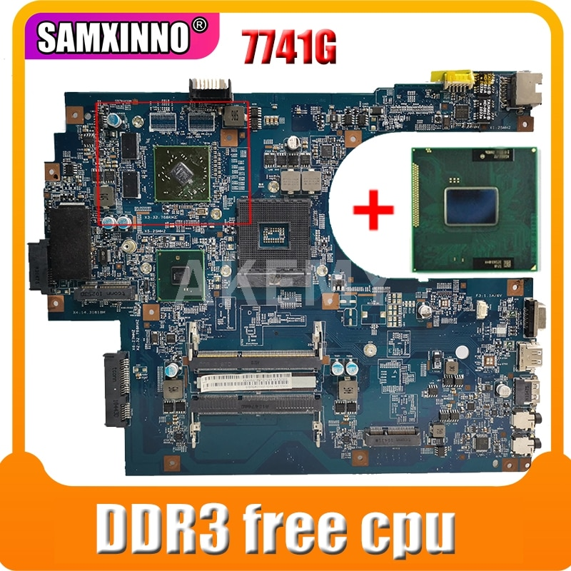 JE70-CP MB 09923-1M 48.4HN01.01M لشركة أيسر أسباير 7741 7741G PC اللوحة MBPT401001 MBN9Q01001 HM55 DDR3 شحن وحدة المعالجة المركزية