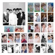Kpop CIX HELLO Chapter 1 странные Фотошторы Jin Young Photo Stikcy Card BX 30 шт. открытка LOMO Card