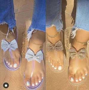 2021 Heels Slippers Women Sandals Summer Shoes Woman Transparent Slippers High Heels Pumps Wedding Sandal Zapatos De Mujer