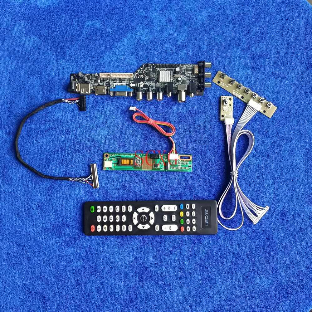 Fit QD15FL02/LQ150F1LH22/TFTMD38971CBA/TM150SP DVB الرقمية 1400*1050 LVDS-30Pin محرك الأقراص HDMI متوافق USB AV VGA 1CCFL عدة