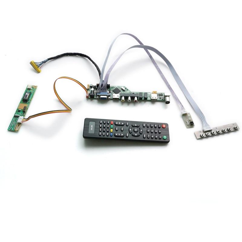 لوحة تحكم العرض ، 30 دبوس ، CCFL LVDS ، لـ LP150X08 (A2)/(A3)/(A5)/(TL)(A2)/(TL)(A6) ، 1CCFL LVDS شاشة VGA + AV + USB 1024*768