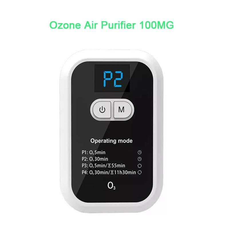 100MG USB Mini Ozone Generator Portable Air Purifier Disinfection Room Kitchen Toilet Deodorization