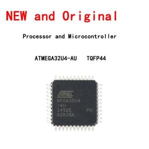 ATMEGA32U4-AU Chip 8-bit Microcontroller AVR 16K Flash Memory USB TQFP-44 New and Original
