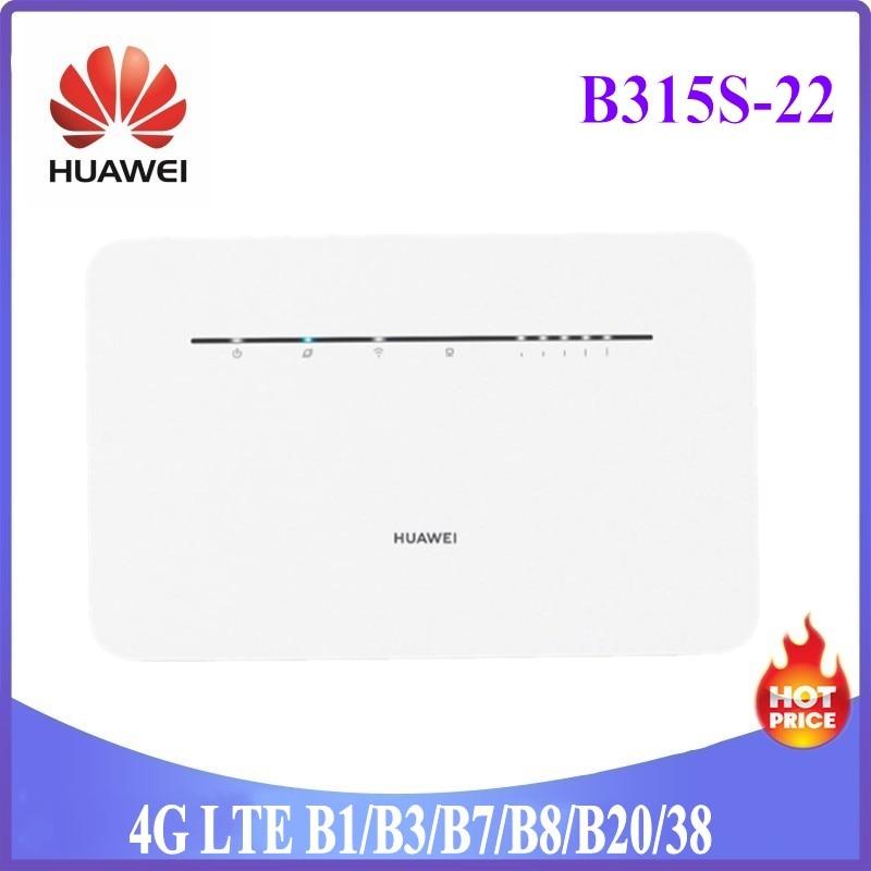 Разблокированный Huawei 4G беспроводные маршрутизаторы B315 B315s-22 b310s-22 мобильный телефон 3G 4G CPE маршрутизаторы точку доступа Wi-Fi маршрутизатор со ...