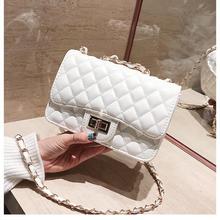 crossbody bags for women diamond chain ladies hand handbags famous brands 2020