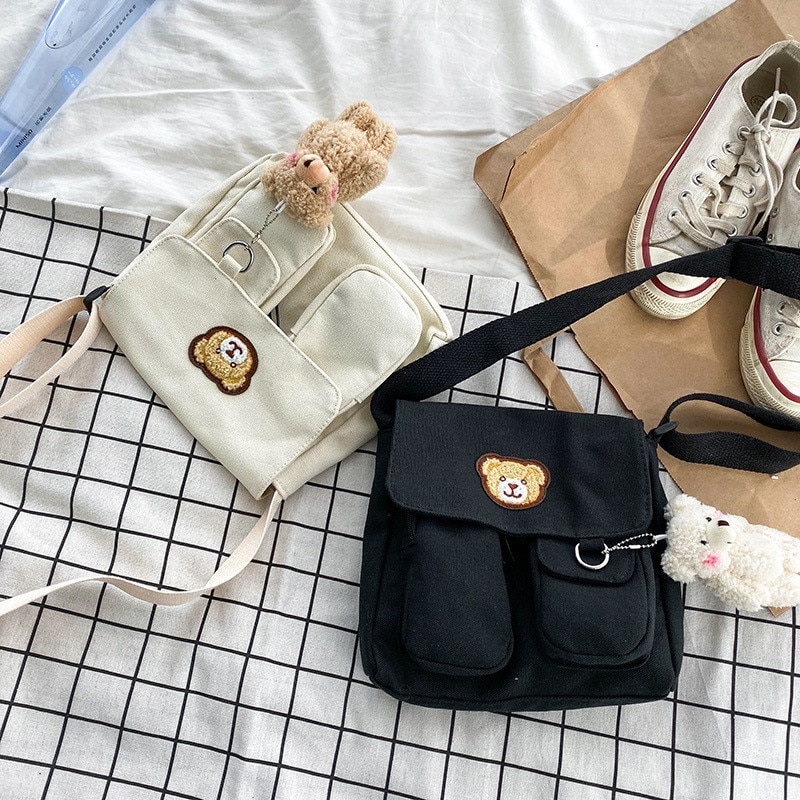 Fashion Canvas Ladies HandBags Women Messenger Bags Totes Crossbody Shoulder Bag Boston Hand Bags Ho