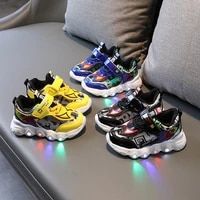 new led fashion cool spiderman children casual shoe hot sales running boys shoes toddlers breathable infant tennis kids sneakers