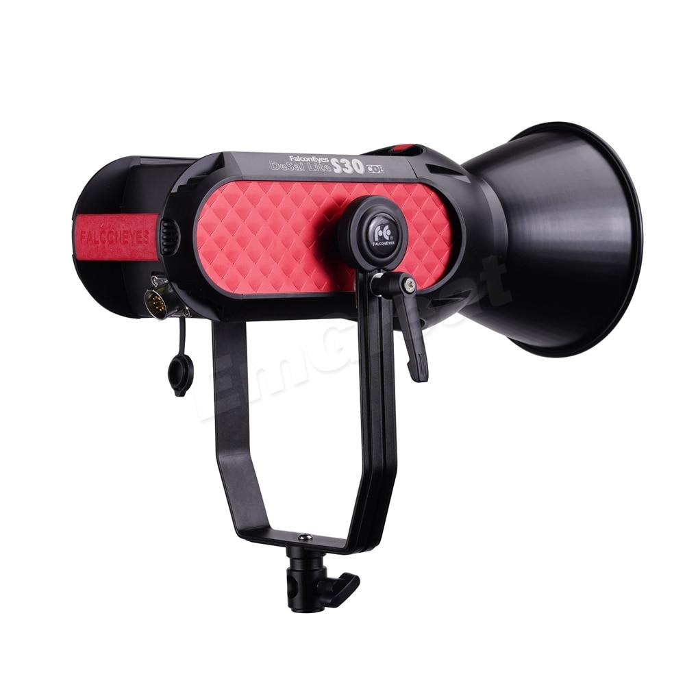 FalconEyes S30 300W 5600K COB Lamp Beads Led Studio Light CRI 96+ Photography Video Photo App Control 9 Built-in Lighting FX
