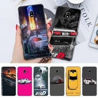 japan anime initial d car taillight shell phone case for huawei mate 20 lite 20x mate 30 40 pro black soft case nax fundas cover