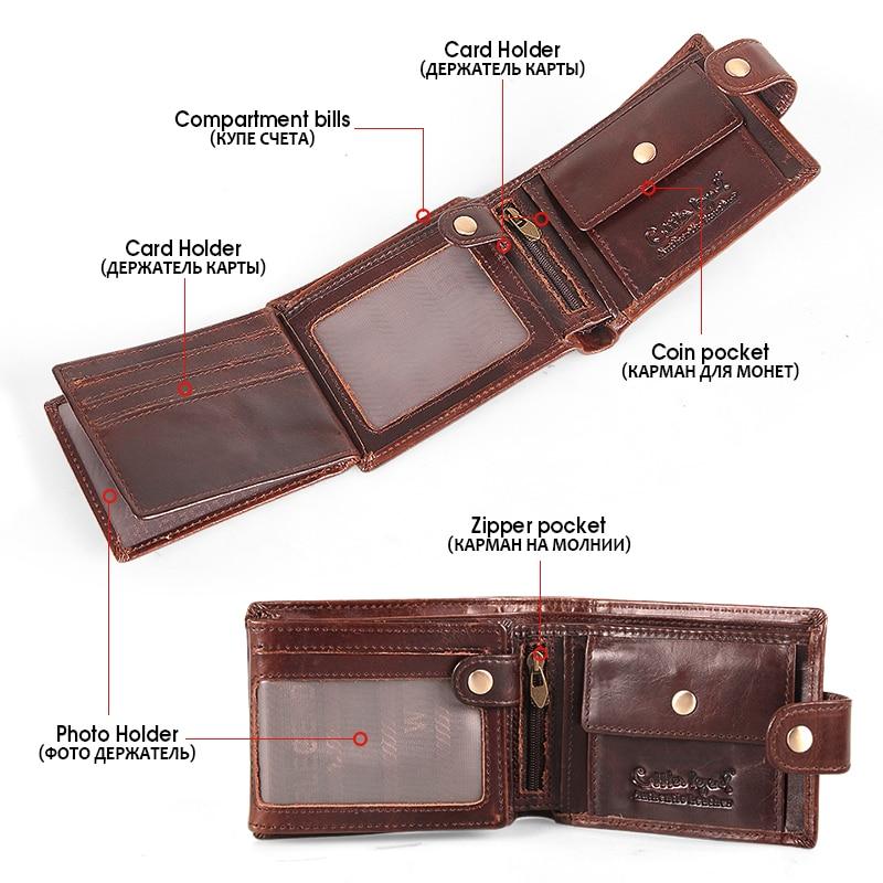 Купить с кэшбэком Cobbler legend Genuine Leather Wallet Men Bifold Business Vintage  2020 New Coin Pocket Designer Brand High Quality Short Purses