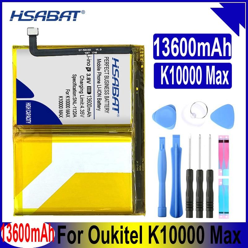 HSABAT K10000 MAX batería de 13100mAh para Oukitel K10000 Max