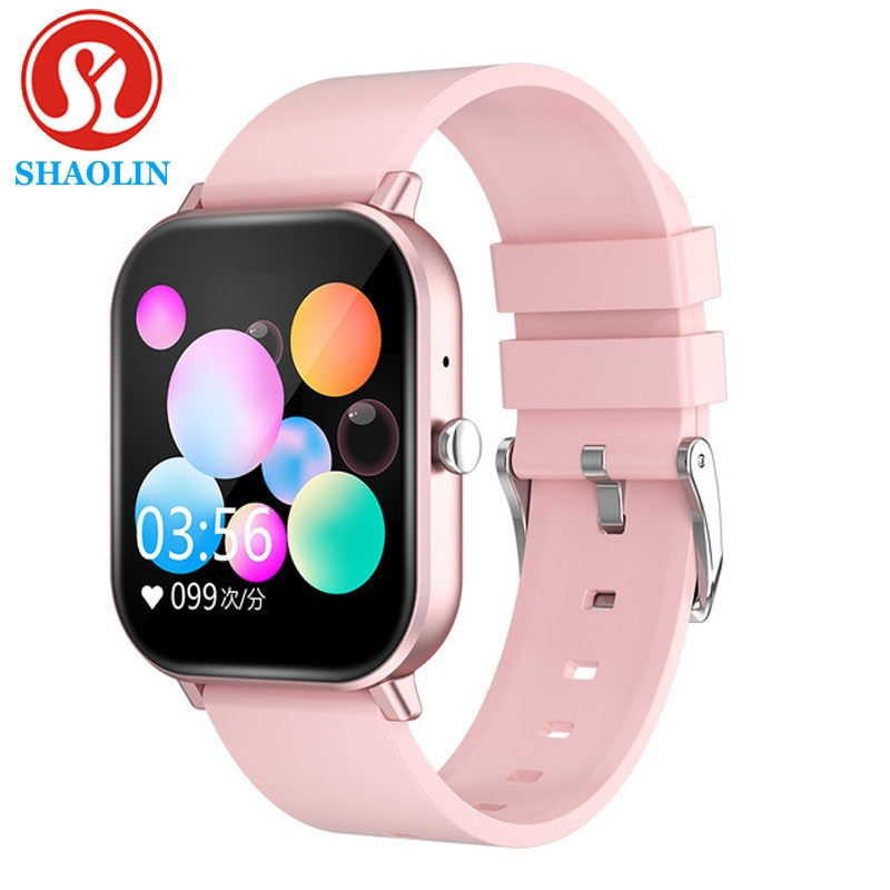SHAOLIN Smart Watch Temperature Full Touch Fitness Tracker Heart Rate Monitor Blood Purchase Women M