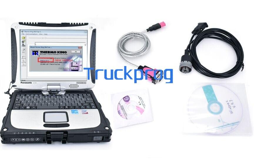 Thoughbook cf19 portátil + wintrac para thermo king caminhão automático empilhadeira ferramenta de diagnóstico wintrac thermo-king empilhadeira ferramenta de diagnóstico