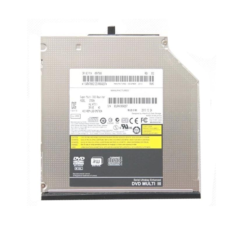 For Lenovo Thinkpad T420 T400 T410 T510 W520 W510 R400  8X DVD RW RAM Double Layer DL Writer 24X CD Burner Optical Drive UJ892