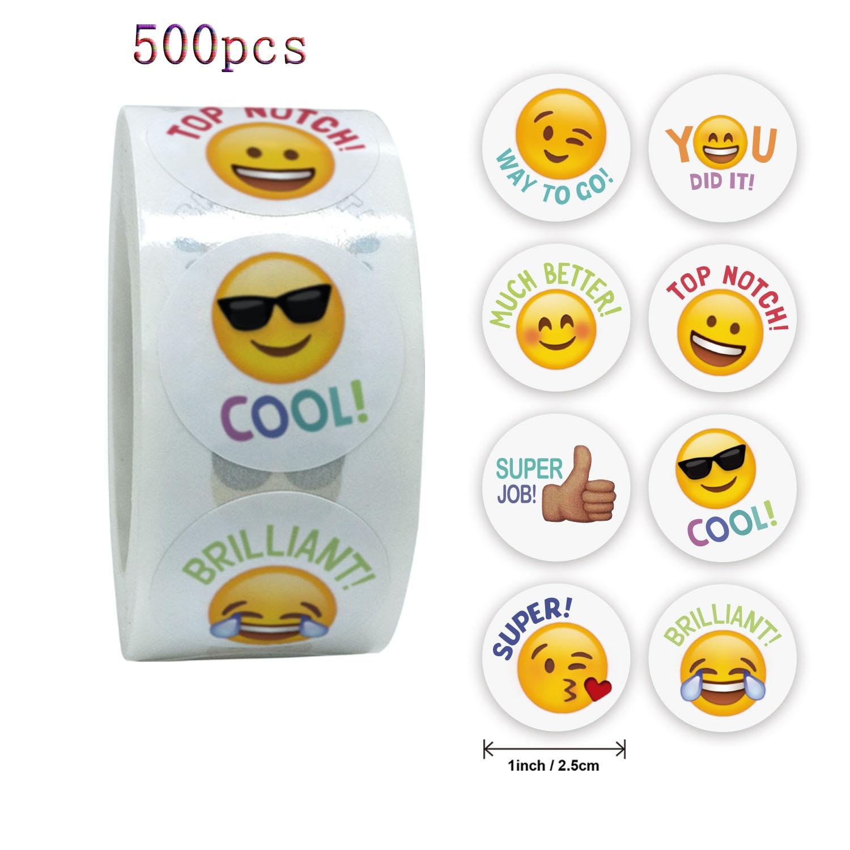 qiduo-pegatina-de-cara-sonriente-para-ninos-etiquetas-adhesivas-de-recompensa-regalos-bonitos-juguetes-de-papeleria-pegatinas-kawaii-para-profesores-500-uds-por-rollo