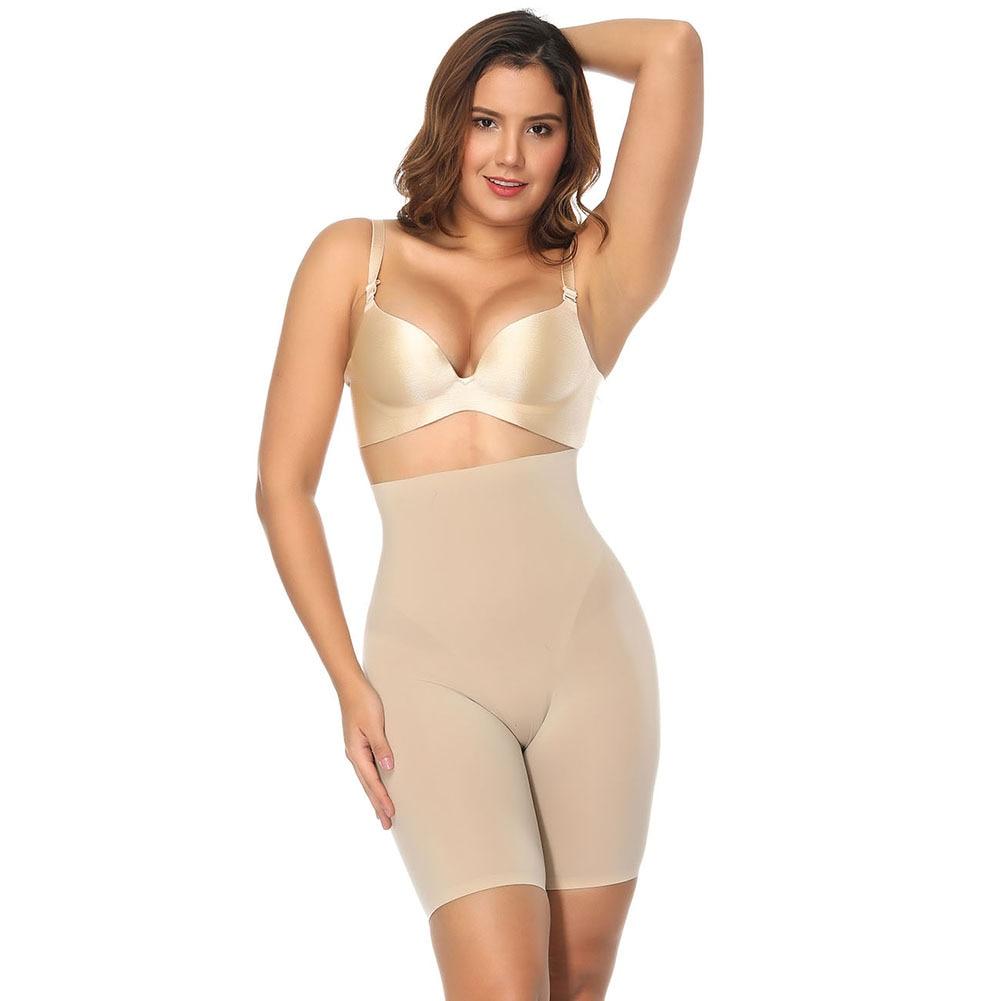 Slimming Tummy Control Panties Women Postpartum  High Waist Body Shaping Pants Ladies Body Shaping Underwear Black Beige S-XXL