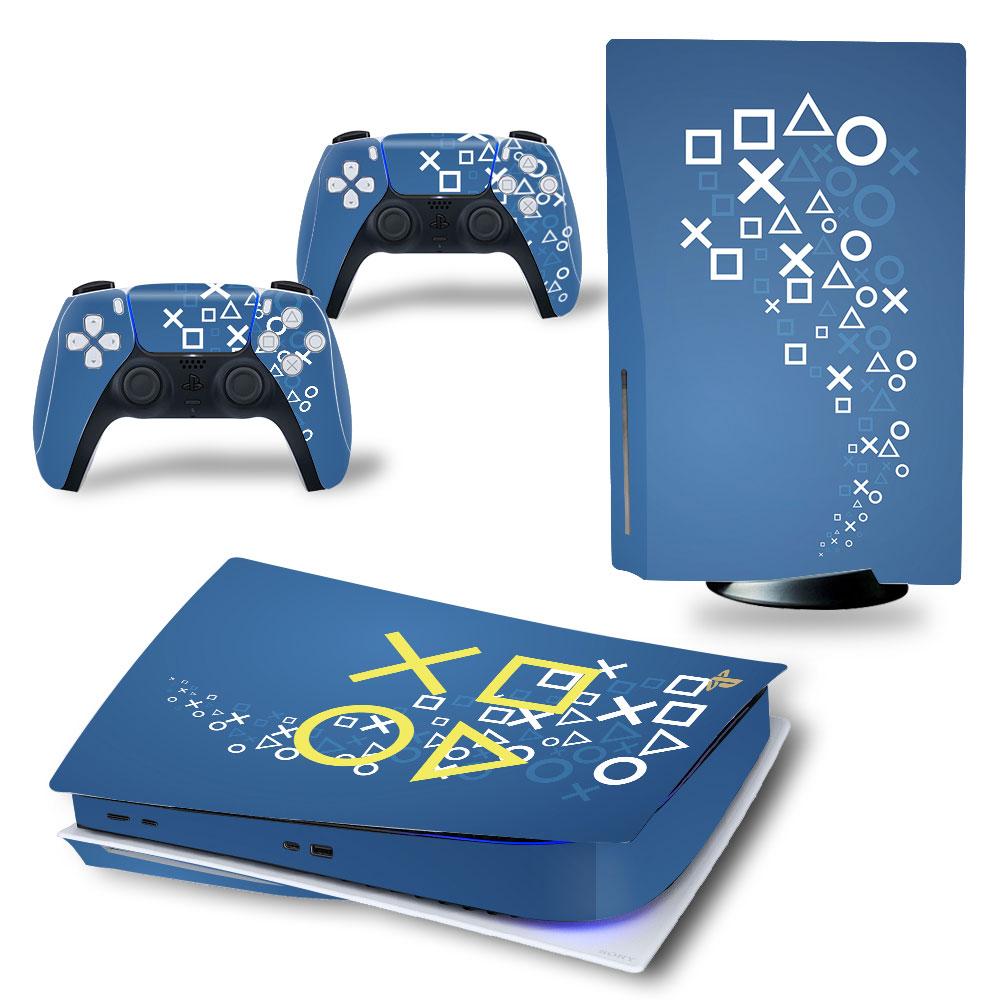 New Game PS5 Standard Disc Skin Sticker Decal Cover for PlayStation 5 Console and Controller PS5 Skin Sticker Accessories