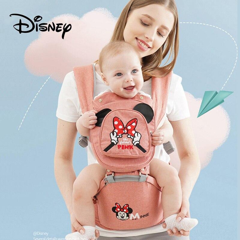 Disney Рюкзаки-кенгуру эргономичный Детский рюкзак с сидением для новорожденных Детские рюкзаки-Кенгуру дышащий фронтальная перевозчиков рюкзаки кенгуру evenflo переноска active