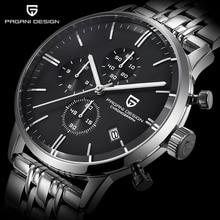 Mens Watches Top Brand Luxury Waterproof 30M Genuine Leather Sport Military Quartz Watches Men Clock