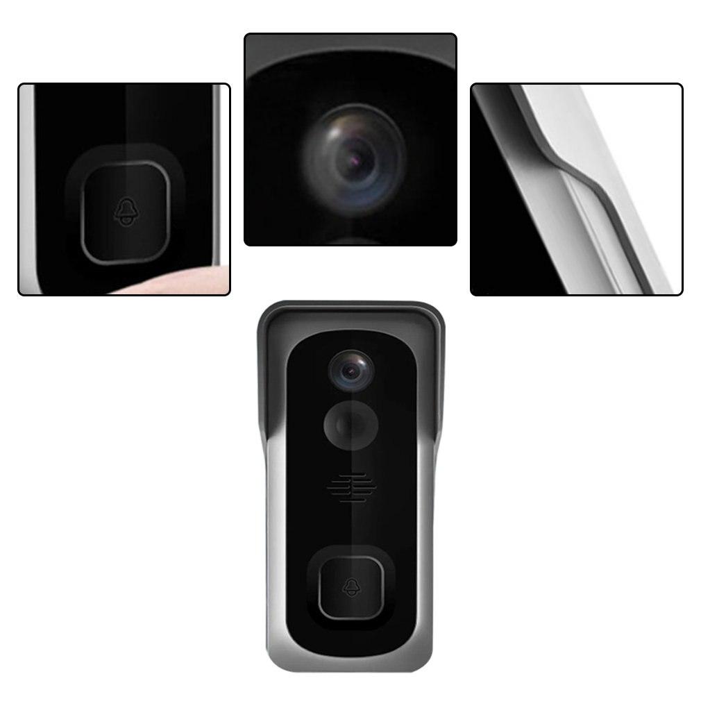 Wireless WiFi Doorbell Freely Paste Video Doorbell Video Call Infrared  Angle Low-power Doorbell enlarge