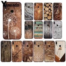 Yinuoda Pattern wood textures Fox Dandelion Mandala Phone Case for Huawei P40 P30 P20Pro P20Lite P30Lite Psmart P10 9lite