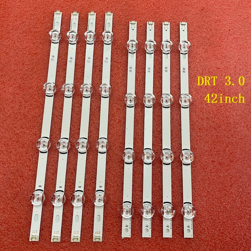 8 قطعة/المجموعة LED الخلفية قطاع ل LG 42LB572V 42LB580V 42LB582V 42LB5610 42LB561V 42LB563V 42LB5500 42LB550V 42LB551V 42LB552V