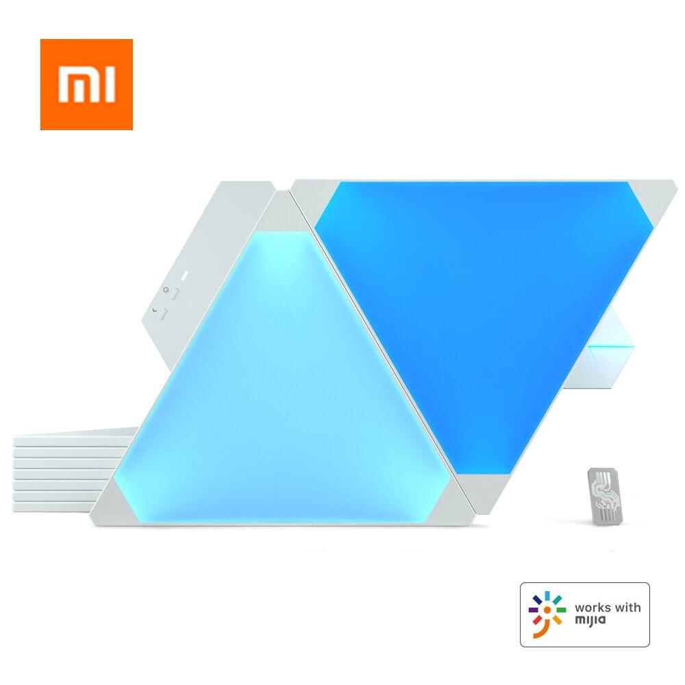 Оригинальный Смарт-набор Nanoleaf Canvas, полный цвет, световая доска, ритм издание для Xiaomi Mijia Apple Homekit Google Home, 2019