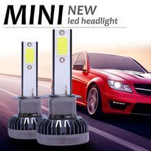 Auto Scheinwerfer Lampen MINI H7 LED Scheinwerfer-birnen Conversion Kit 200W 48000LM 6000K Hallo/Lo Strahl Lampe auto Lichter Zubehör