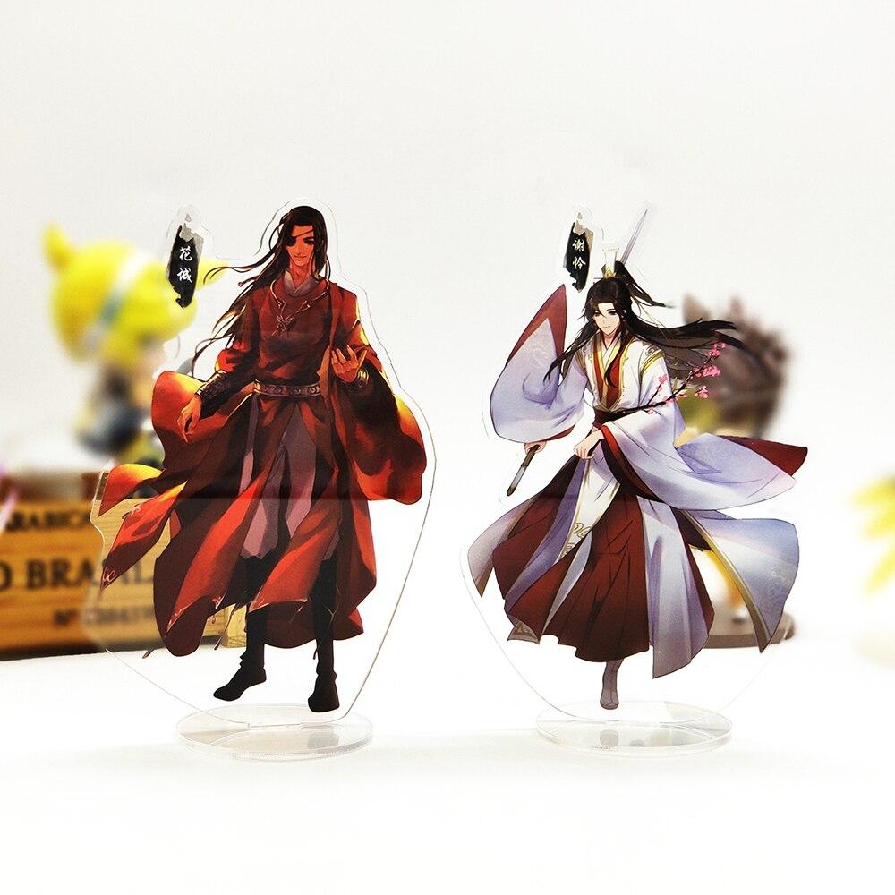 Tian Guan Ci Fu Xie Lian Hua Cheng HF soporte de acrílico figura modelo titular de placa de topper de la torta de anime