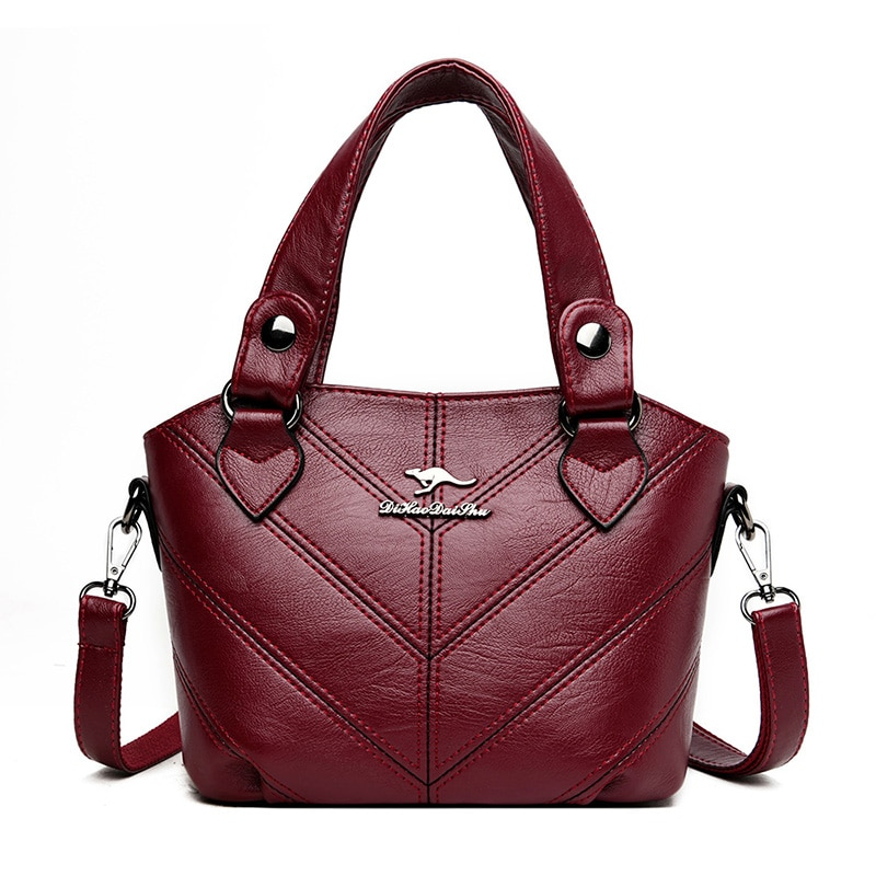 Luxury  Handbags Women Bags Designer Plaid Satchel Handbag Female Soft Leather Shoulder Bag Sac A Main Tote Bags Female New 2020
