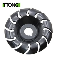 1pc 65mm angle grinder wood grinding wheel 12 teeth wood carving disc 16mm bore wood shaping disc woodworking cutting tool