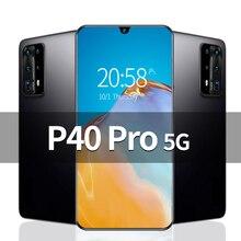 P40 Pro 6.8 inch Unlocked Smartphone 4G 5G 16MP+32MP 12GB+512GB 5800mAh Mobile Phones Telefones Celu