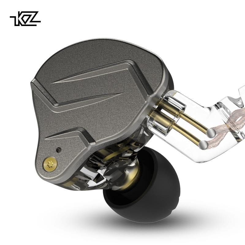 KZ ZSN PRO 1BA+1DD Hybrid In Ear Earphone Monitor Running Sport Earphone HIFI Headset Earbud KZ ZST ZS10 ES4 AS10 AS06 KZ ZSN