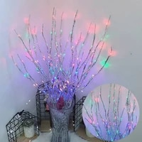 7531 set artificial tree branch 20 led string lights fairy holiday christmas tree decorations for home outdoor navidad decor