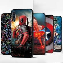 Funda para Huawei P Smart Z Y9 Prime 2019 Y6 2018 funda trasera suave negra TPU para Honor 9X 9X Pro 6X caso, Batman, Hombre Araña,