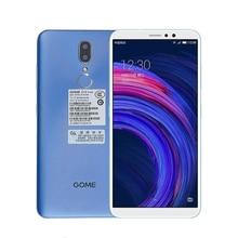 Gome C72 4G LTE Smartphone 5.99 pouces 4GB 64GB MT6763T Octa Core 3500mAh empreinte digitale téléphone portable étudiant téléphones à la mode