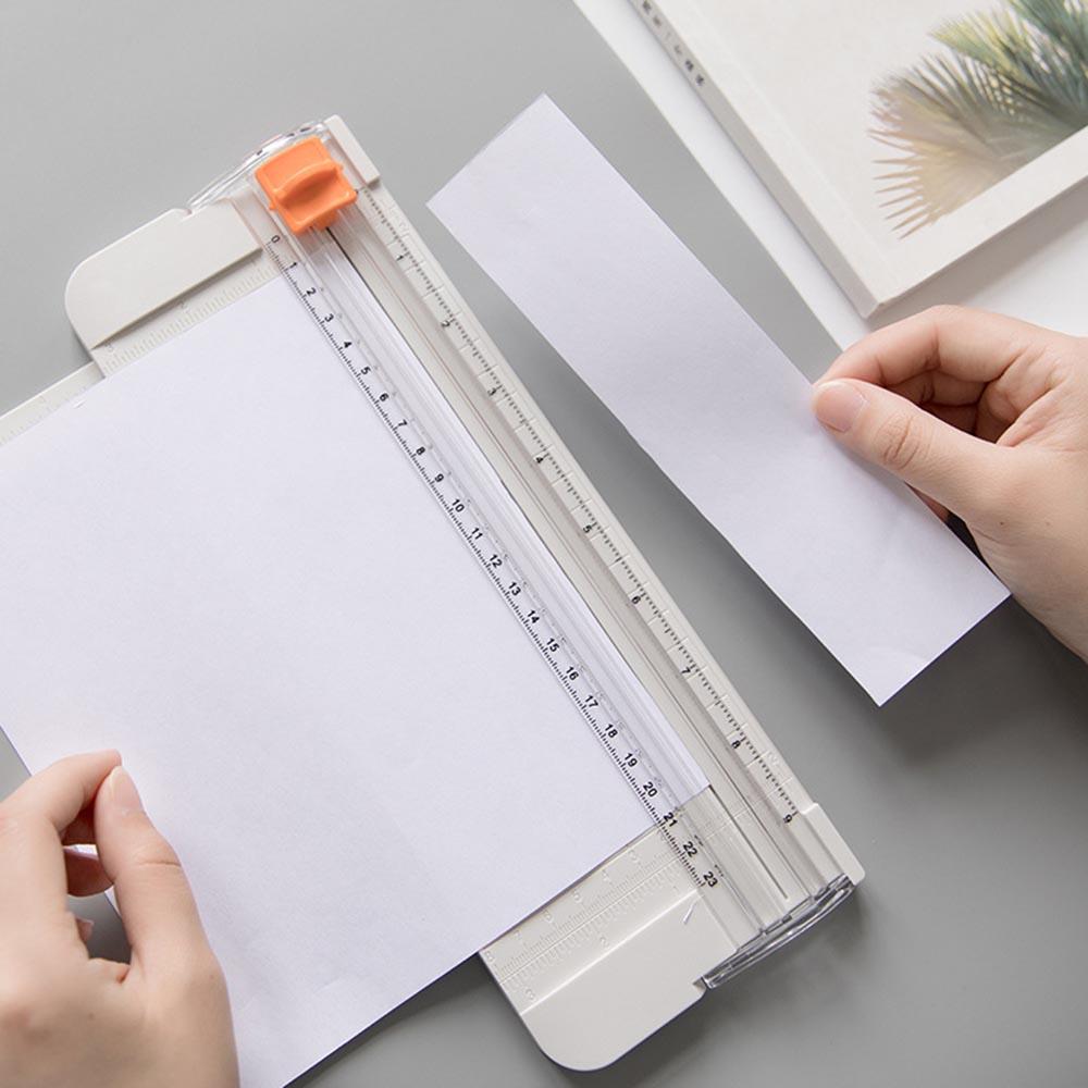 23 см портативный мини А5 прецизионные бумажные фото триммеры для DIY скрапбукинга бумаги пластиковые фоторезы режущий коврик инструменты