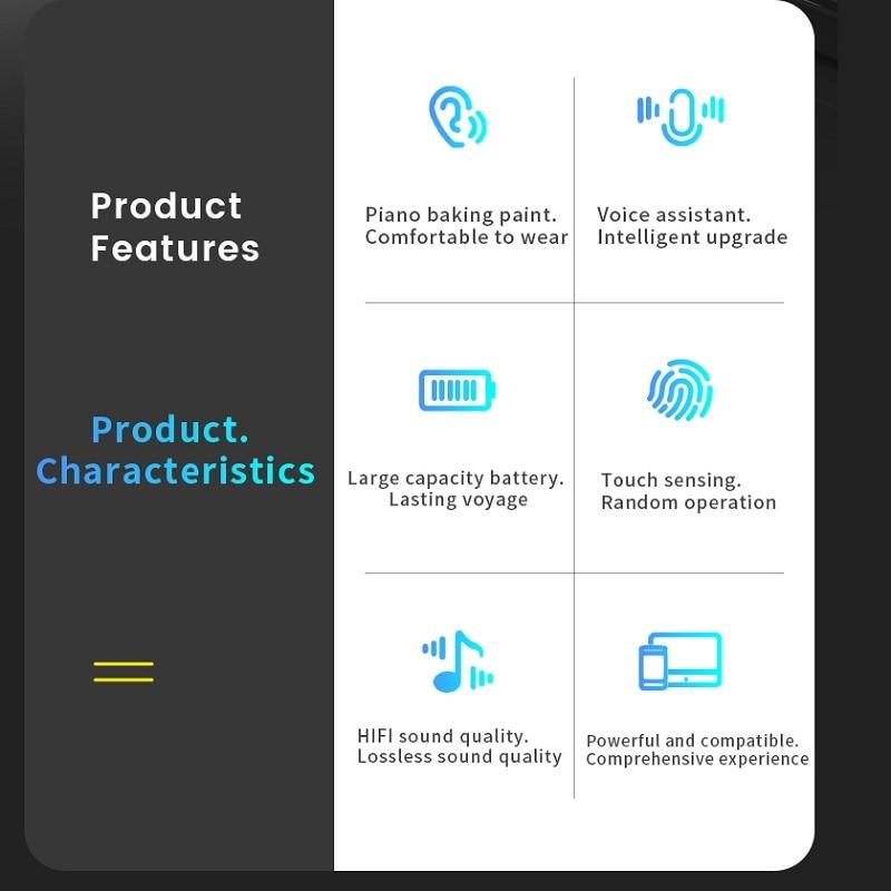 Original I99999 Plus TWS Wireless Earphone Rename Bluetooth 5.0 Super Earbuds PK I9000 Pro I90000 Max Headphone ear phones max enlarge