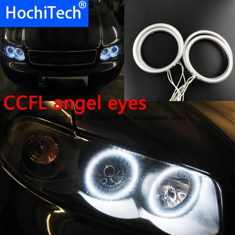 HochiTech, faro blanco 6000K CCFL, Halo, Kit de Ojos de Ángel, Ojos de Ángel, luz para audi A4 B6 2000 2001 2002 2003 2004 205 2006