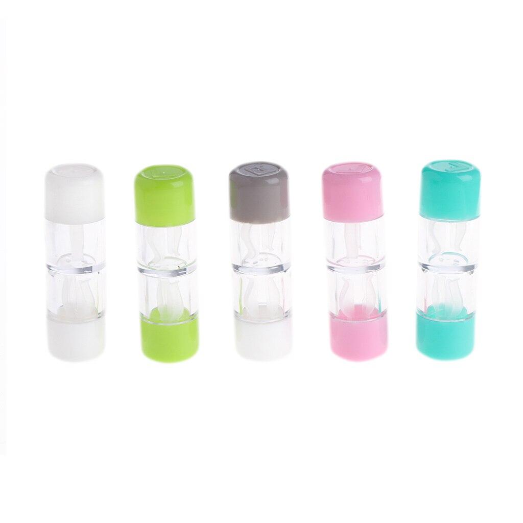 Soporte para contenedor de lentes de contacto cosméticas RGP Estuche para gafas de contacto duro caja protectora W2952001