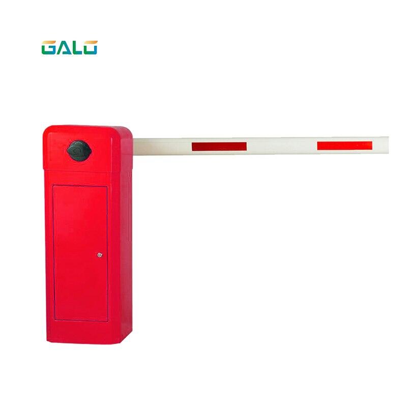 Автоматические сверхпрочные защитные ворота с Прямой стрелой для парковки, алюминиевые барьерные ворота