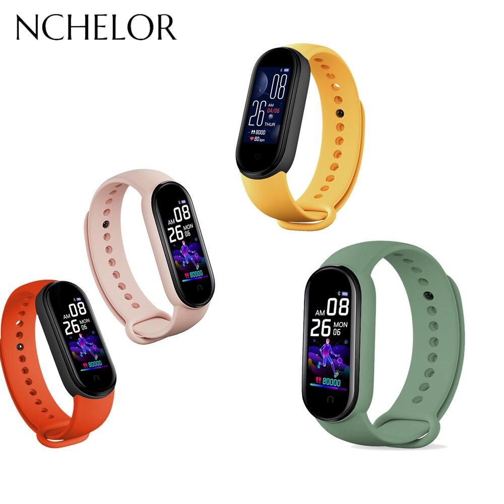 Reloj de mujer y hombre deportivo electrónico inteligente pulsera multifunción con pantalla a Color monitorización de ritmo cardíaco