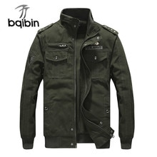 High Quality Military Us Army Bomber Jacket Men Spring Autumn Pilot Jackets Male Cotton Multi-pocket