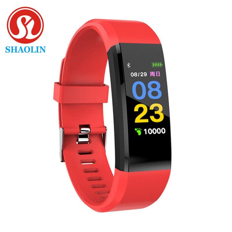 SHAOLIN Fitness Tracker Blood Pressure Waterproof Wrist Band Bracelet Smart Band Smart Band Watch Br